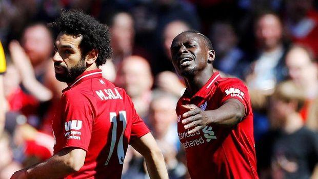 Samuel Eto'o memilih Mohamed Salah dan Sadio Mane sebagai pemain terbaik dunia.