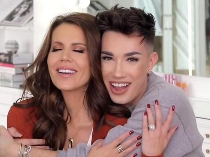 Tati Westbrook & James Charles Foto: YouTube