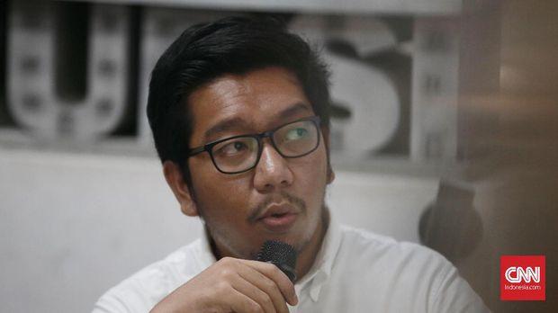 Anggota Divisi Hukum ICW Kurnia Ramdhana.