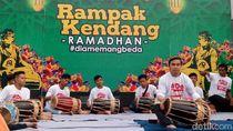 Rampak Kendang Suguhkan Musik Jelang Berbuka Puasa di Banyuwangi