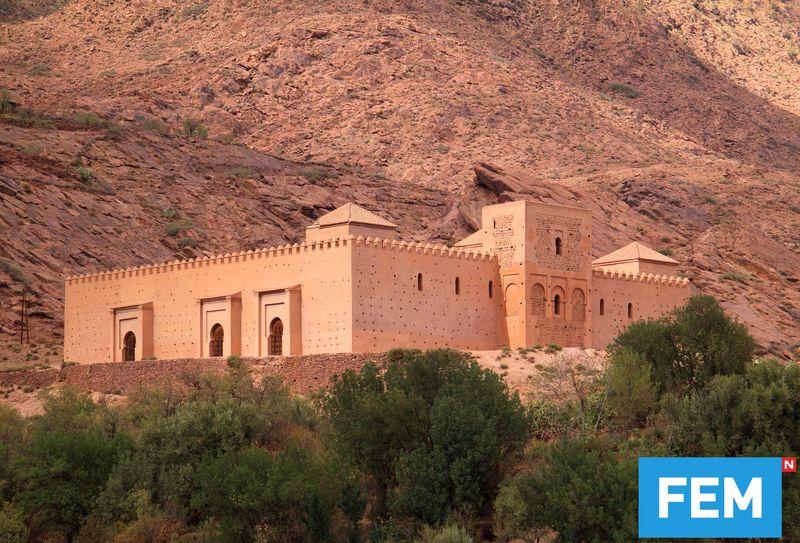 Maroko punya banyak masjid cantik yang bisa traveler kunjungi. Namun hanya ada 2 masjid yang membuka pintunya untuk wisatawan non muslim, salah satunya Tin Mal. (iStock)