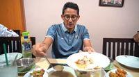 Buka Puasa Pakai Soto Banjar, Sandiaga Uno: Maknyusss!