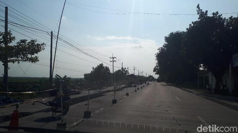Awas, Jalur Mudik Bojonegoro-Ngawi yang Bergelombang Sedang Diperbaiki