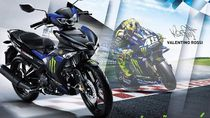 Yamaha MX King 150 Dapat Livery Monster Energy ala Rossi
