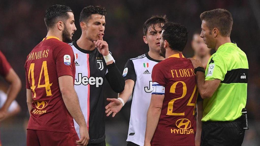 Video: Juventus Kalah, Ronaldo Olok-olok Florenzi