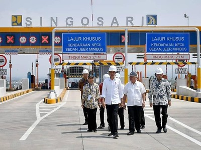 Jokowi Promosi Keindahan Tol Pandaan-Malang