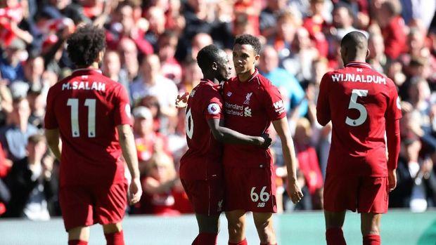 Liverpool kalah satu poin dari Manchester City di klasemen akhir 2018/2019.