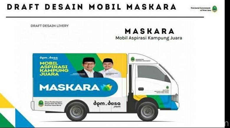 Mobil Maskara Foto: Mukhlis Dinillah
