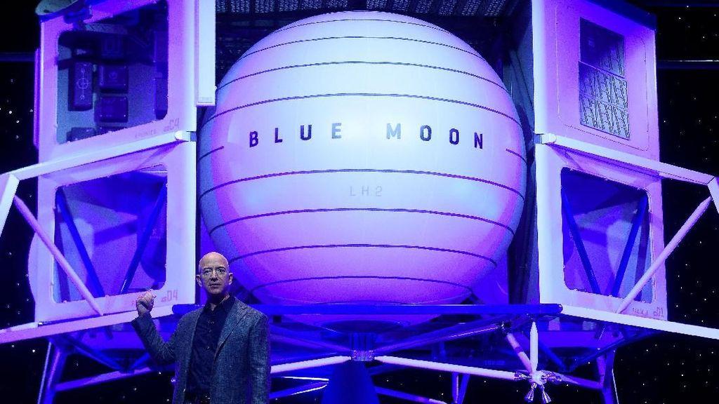 Jeff Bezos Mulai Jualan Tiket Wisata Luar Angkasa