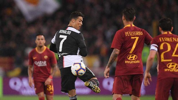 Ronaldo Jadi Pemain Terbaik Liga Italia