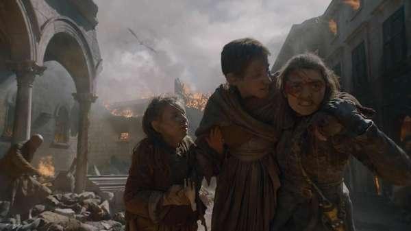 Amukan Daenerys dan Kematian Dua Tokoh Utama di Game of Thrones