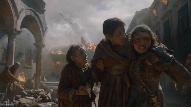Arya Stark (Game of Thrones dok HBO)