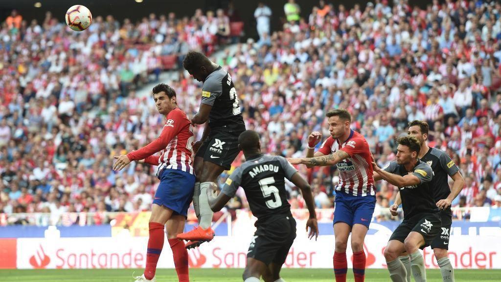 Atletico Madrid Vs Sevilla: Duel di Wanda Metropolitano Selesai 1-1