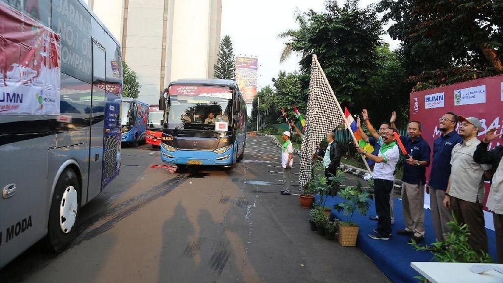 Pupuk Indonesia Sediakan 5.500 Kursi Mudik Gratis