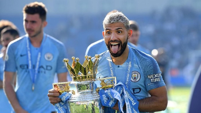 Manchester City juara liga Inggris. Foto: Mike Hewitt/Getty Images