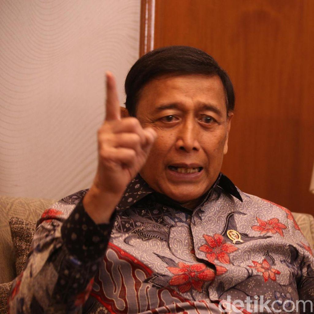 Novanto Pelesiran, Wiranto: Ada Wacana Buat Lapas Koruptor di Pulau Terpencil