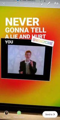 Sticker Lirik Lagu Instagram bakal Saingi TikTok