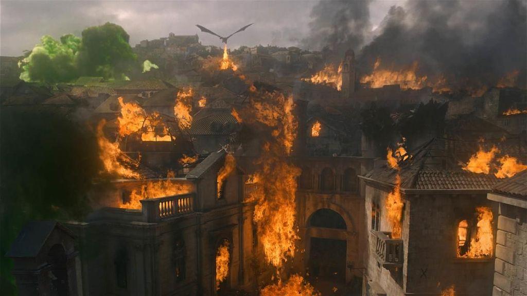 Pesan Haru Para Pemain Iringi Episode Final Game of Thrones 8