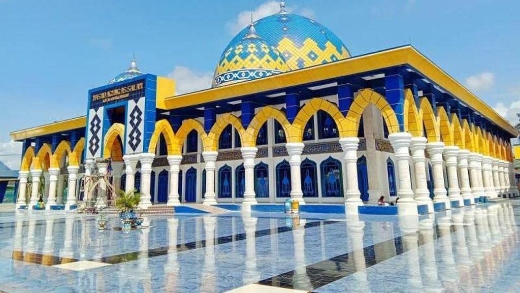 Masya Allah, Megahnya Masjid Agung As-Salam di Lubuk Linggau