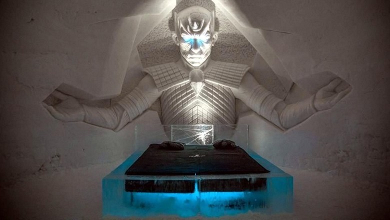 Hotel es ala serial Game of Thrones (Lapland Hotel Snowvillage)