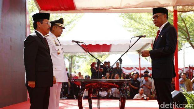 Makassar Resmi Punya PJ Wali Kota, Banjir dan Macet Program Utama