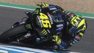 Berita Populer: Motor Yamaha Valentino Rossi Keok di Trek Lurus
