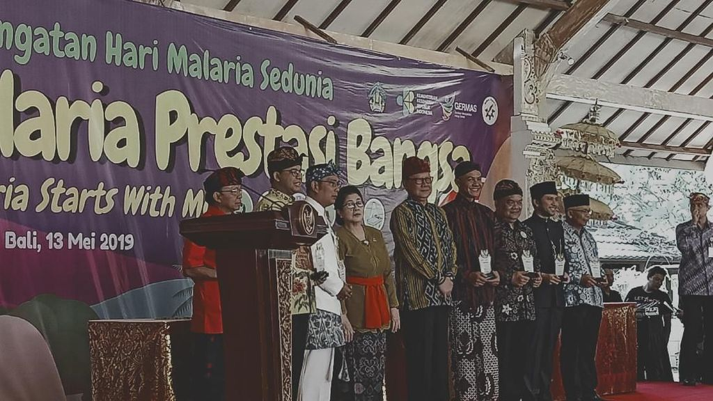 Anies Hingga Emil Dardak Hadiri Peringatan Hari Bebas Malaria di Bali
