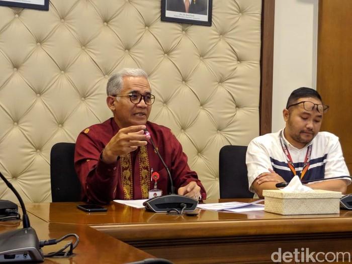 Deputi Bidang Koordinasi Pendidikan dan Agama Kementerian Koordinator Pembangunan Manusia dan Kebudayaan (PMK) Agus Sartono (Jefrie Nandy Satria/detikcom)