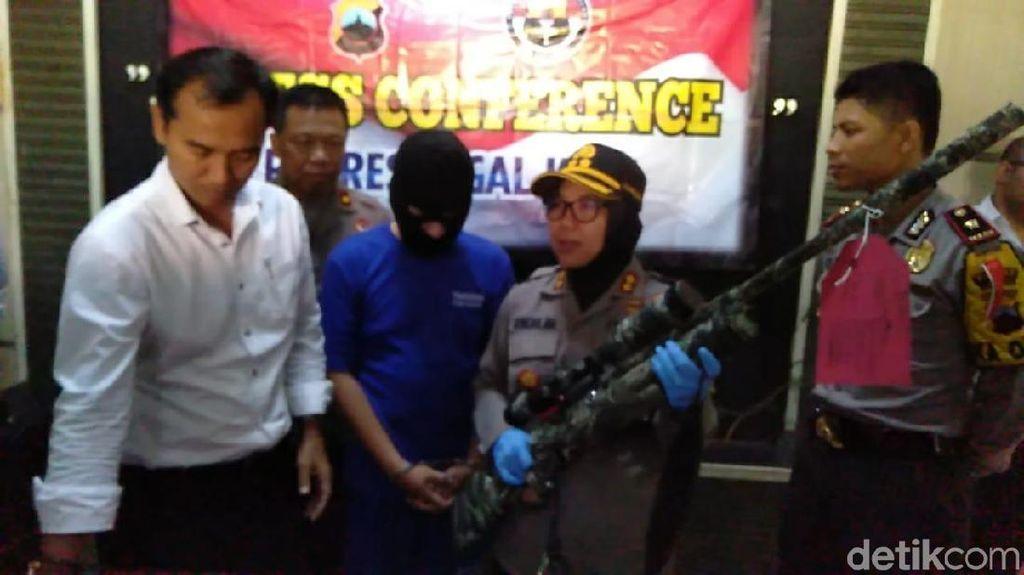 Pelaku yang Tembak Remaja Pakai Senapan Angin di Tegal Ditangkap