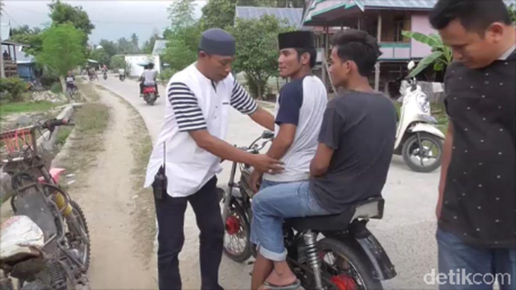 Polisi Bubarkan Balap Liar Jelang Buka Puasa di Polman Sulbar