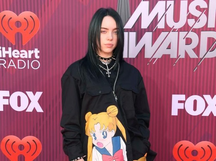 BEVERLY HILLS, CALIFORNIA - MARCH 14: Billie Eilish attends MCM Global Flagship Store Grand Opening On Rodeo Drive at MCM Global Flagship Store on March 14, 2019 in Beverly Hills, California. (Photo by Amy Sussman/Getty Images)