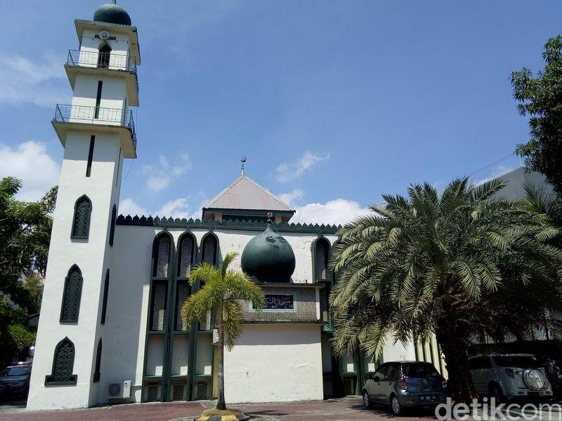 Masjid As-Said yang berada di Jalan Lombok, Kecamatan Ujung Pandang, Kota Makassar. (Ibnu Munsir/detikcom)