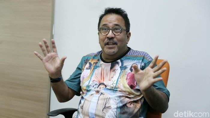 Rano Karno telah menjalani operasi empedu. Foto: Asep Syaifullah/detikHOT