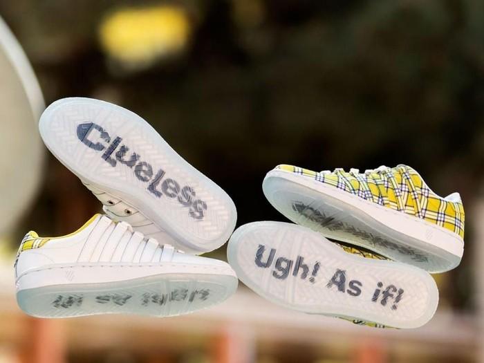 Sneakers K-Swiss x Clueless (Foto: Instagram/@kswiss)