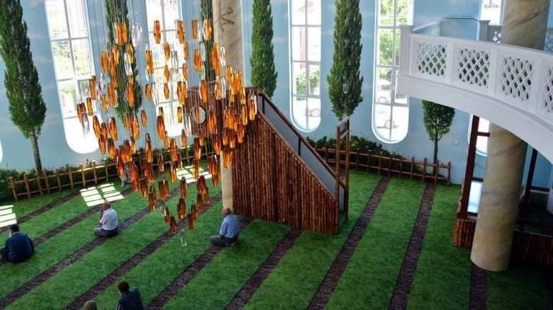 Masjid Hamamiye Camii di Turki (ilmfeed/Facebook)