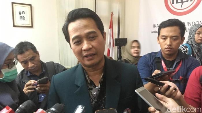 Ketua Umum Pengurus Besar IDI, Daeng M Faqih. (Arief-detikcom)