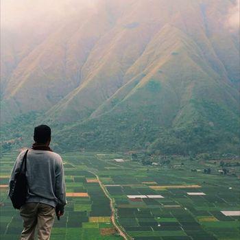 Berwisata di Lombok.
