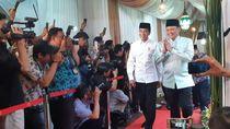 Buka Puasa Bersama di Rumah Bamsoet, Jokowi Disambut Fahri Hamzah