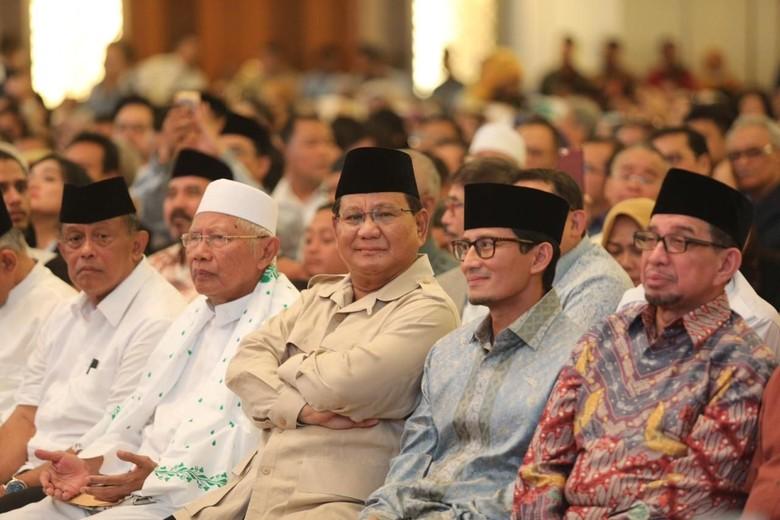 Klaim Suara Prabowo Jadi 54,24%, PD: yang 62% Berarti Tak Terbukti
