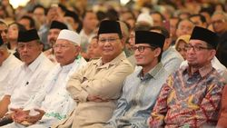 Sandi Tak Selalu Bareng Prabowo