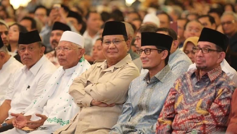 Prabowo Tolak Penghitungan Suara yang Curang, Ini Kata KPU