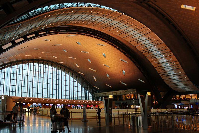 Bandara Internasional Hamad merupakan airport pengubung di Doha, Qatar dengan berbagai wilayah Asia, Amerika bahkan Eropa (Getty Images)