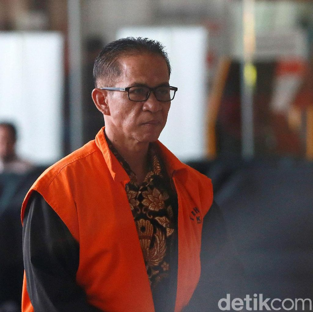 Segera Disidang, Bupati Mesuji Dipindahkan dari KPK ke Rutan Polda Lampung