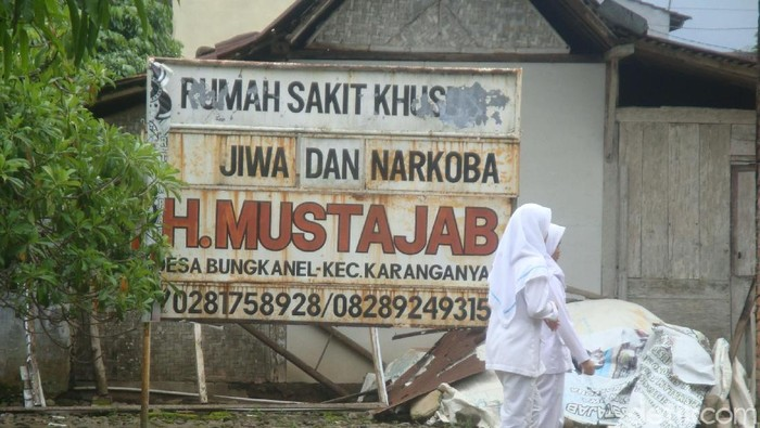 Pondok Rehabilitasi Jiwa dan Narkoba Mustajab, Purbalingga. Foto: Arbi Anugrah/detikcom