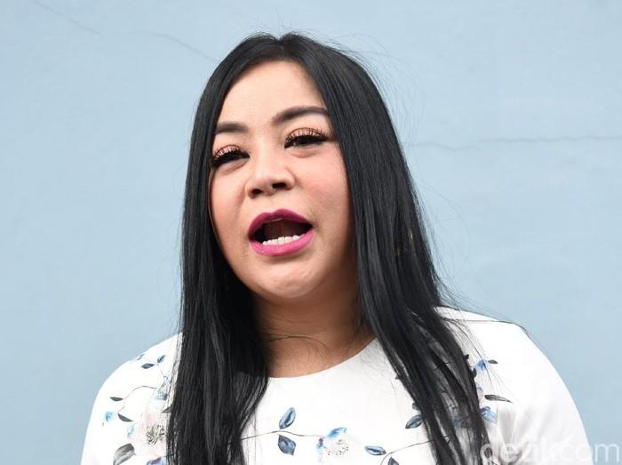 Annisa Bahar saat ditemui di studio Trans TV.