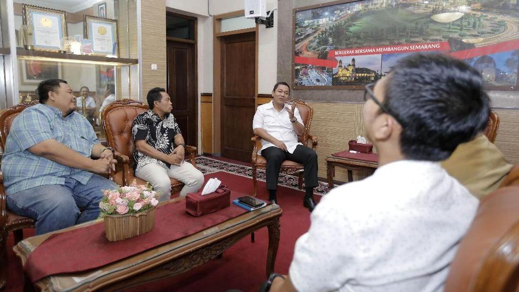 PSIS Laporkan Persiapan Hadapi Liga 1 ke Wali Kota Semarang