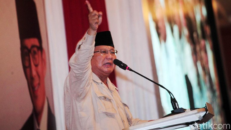 Hoax Prabowo Kabur ke Luar Negeri Ditepis BPN