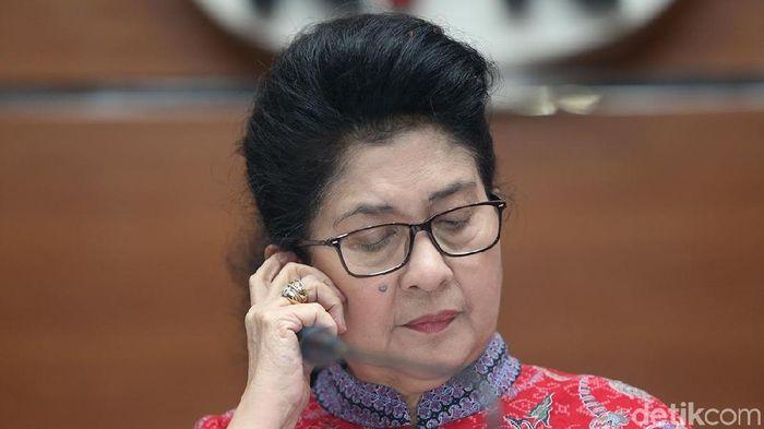 Menteri Kesehatan Nila Moeloek Foto: Ari Saputra/detikcom