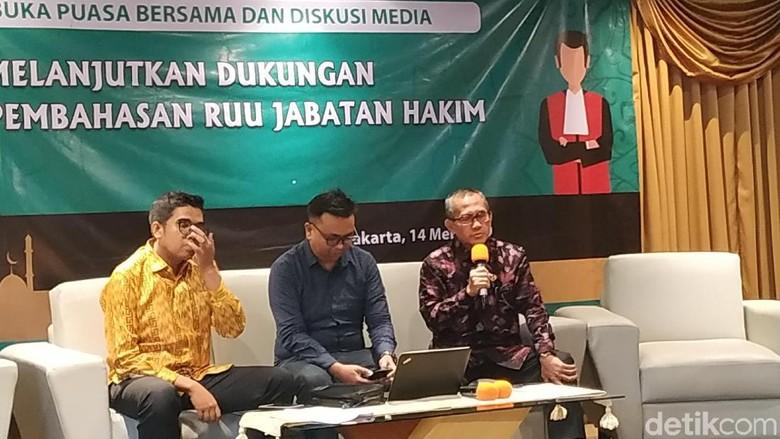 Ketua KY Ingin Pembahasan RUU Jabatan Hakim Segera Rampung