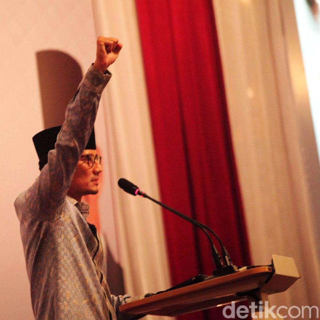 Sandi Tolak Prabowo ke Brunei Dikaitkan 22 Mei